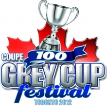 100th Grey Cup Festival Logo