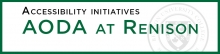 Accessibility Initiatives - AODA at Renison