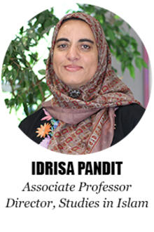 Idrisa Pandit, Associate Professor, Director, Studies in Islam