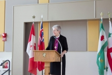 Bishop Nicholls fields questions at Waterloo Deanery event at Renison