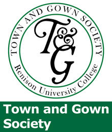 Town and Gown Society (with Renison Town and Gown Society seal)
