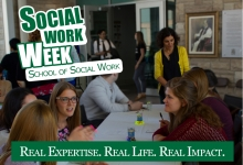 Social Work Week 2017 - Real Expertise. Real Life. Real Impact.