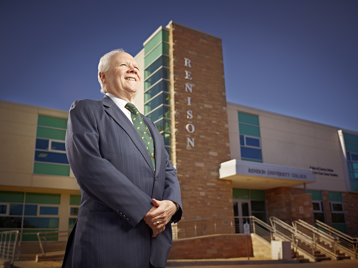 Glenn Cartwright in front of Renison circa 2009