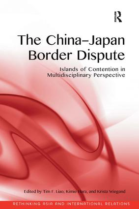 book cover, the China-Japan border dispute, co-authored by Professor Kimie Hara