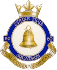Badge of the 80 Spitfire Squadron, Royal Canadian Air Cadets