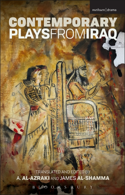 Contemporary plays from Iraq, book cover