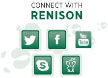 Connect with Renison using Twitter, Facebook, YouTube, Skype or Podcasts