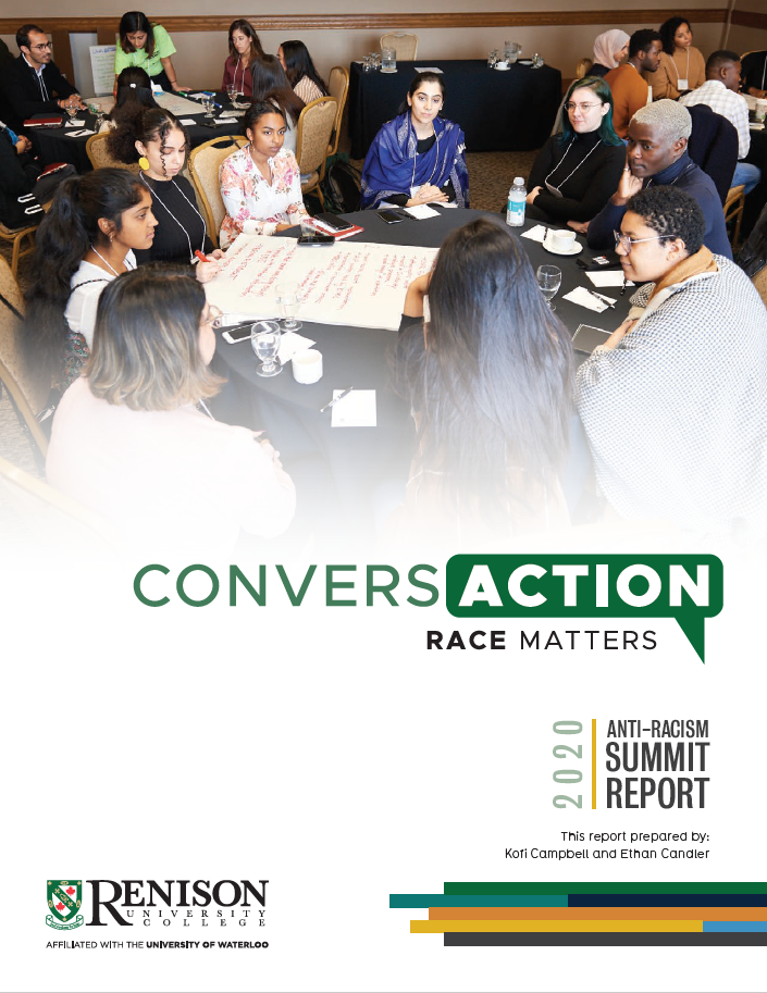 ConversAction Anti-Racism Summit Report cover