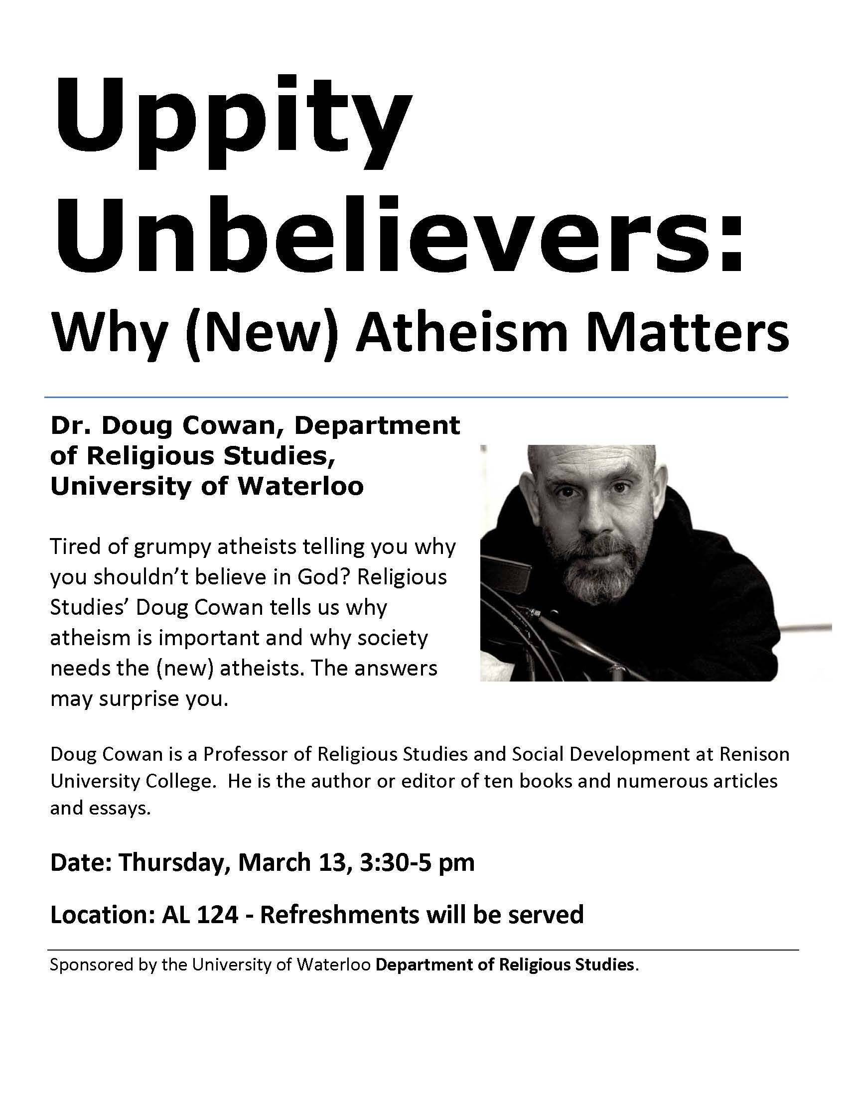 poster for Uppity Unbelievers