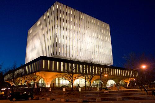 Photo of the Dana Porter library