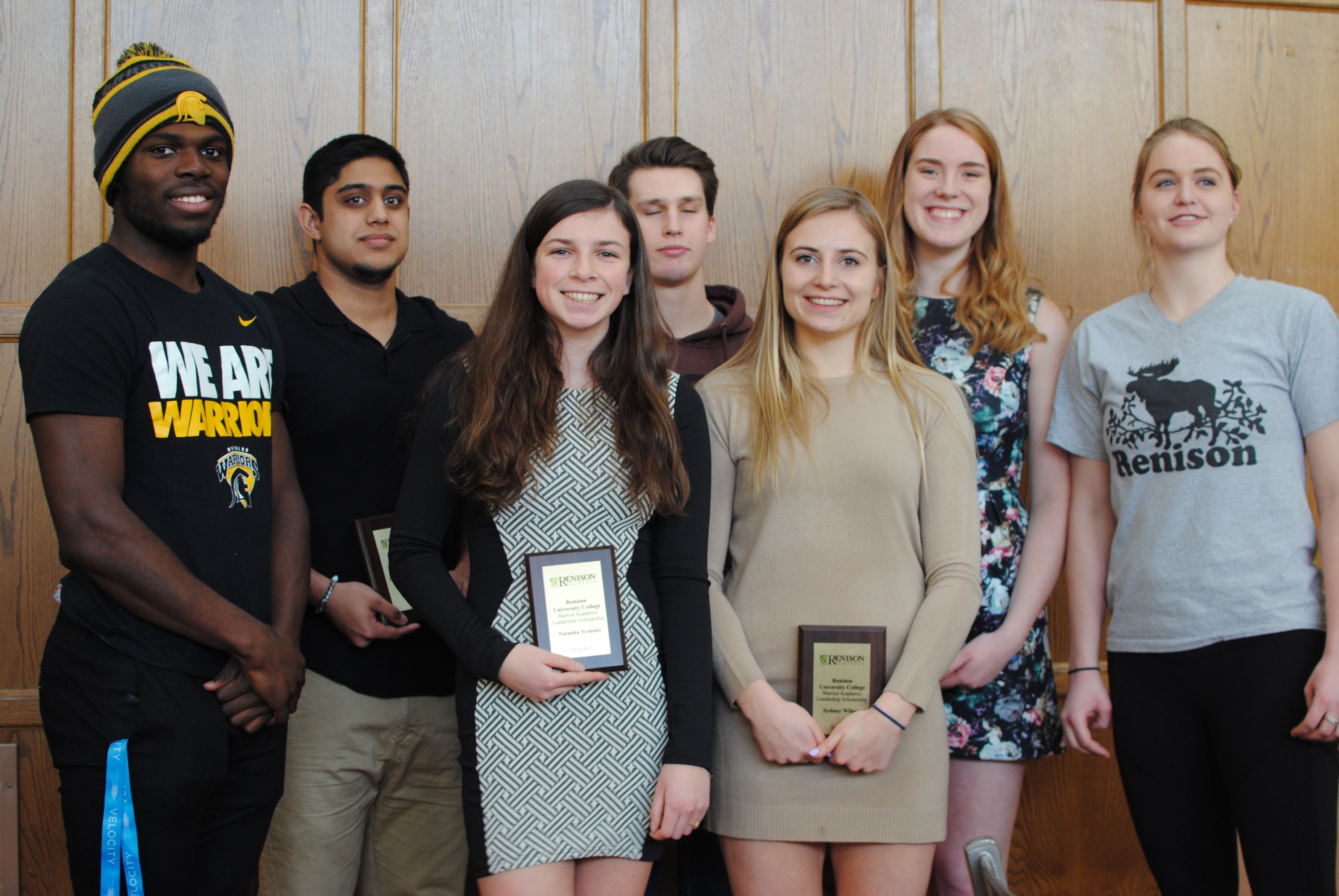 Renison WALC leaders give out awards