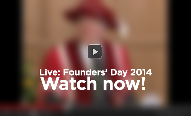 Founders Day live stream