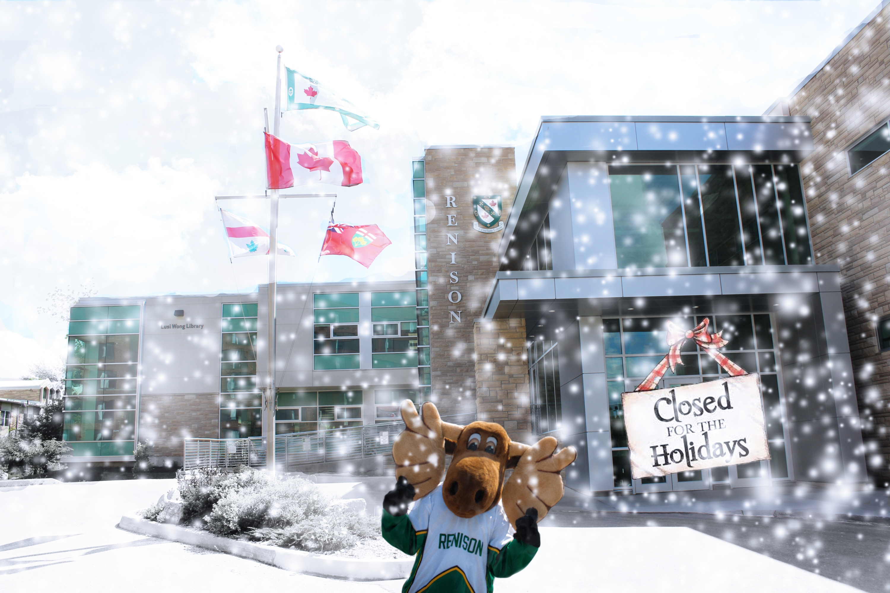 Happy Holidays from Renison! (Closed for the holidays)