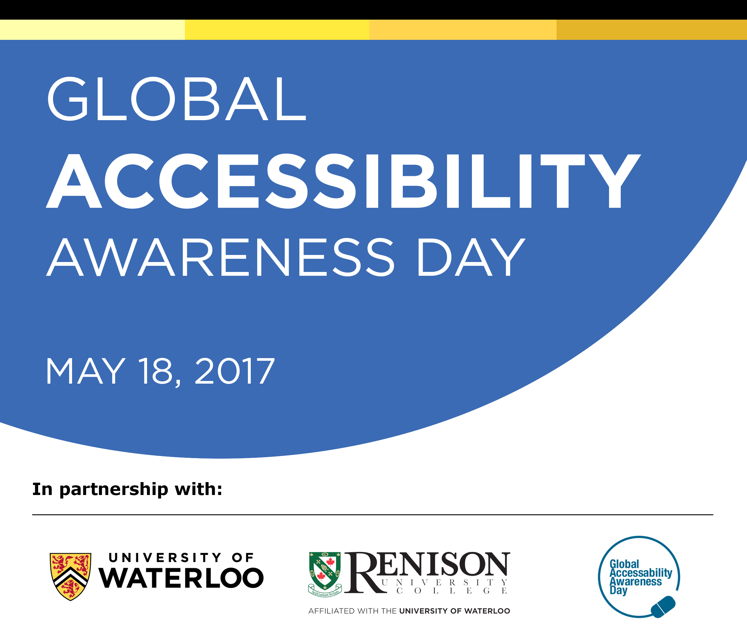 Global Accessibility Awareness Day, May 18, 2017