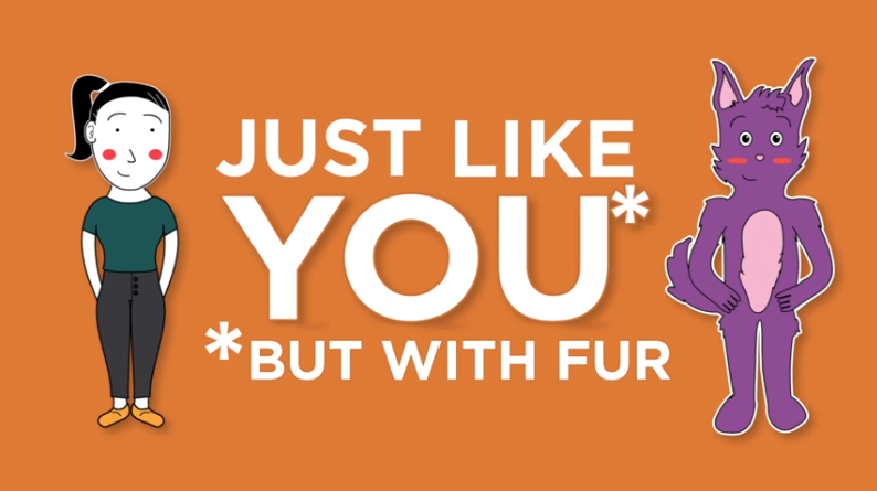 Just like you* but with fur screenshot