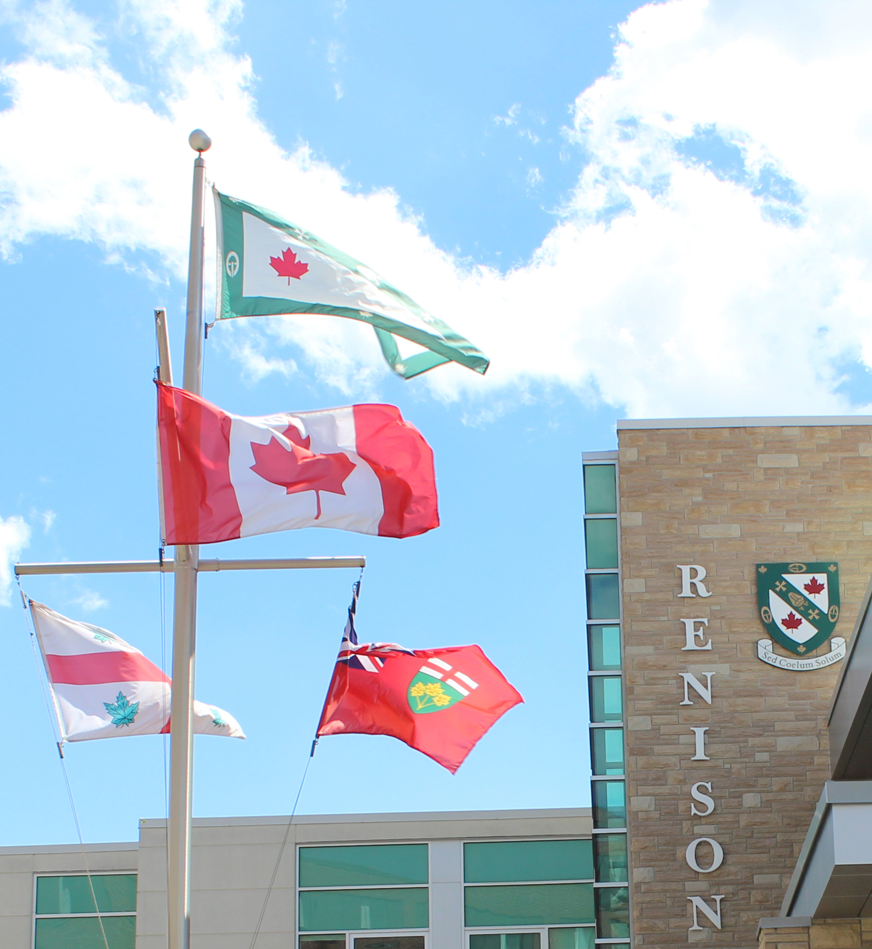 One sky over all - Renison skyline