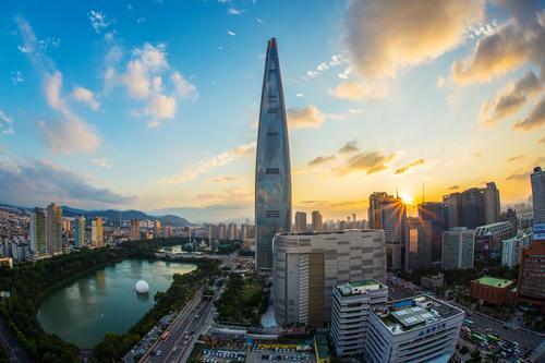 Korean cityscape