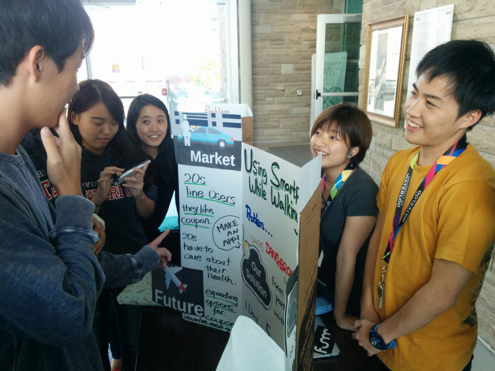 Students showcase their business ideas at the RIO business leadership showcase