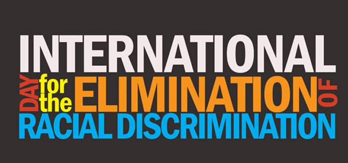 Banner: international day for the elimination of racial descrimination