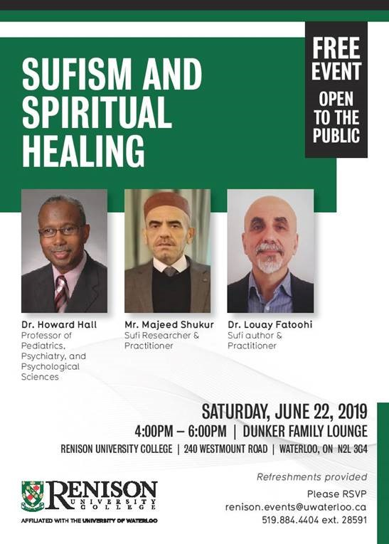 Poster - June 22 Sufism and Spiritual Healing Event
