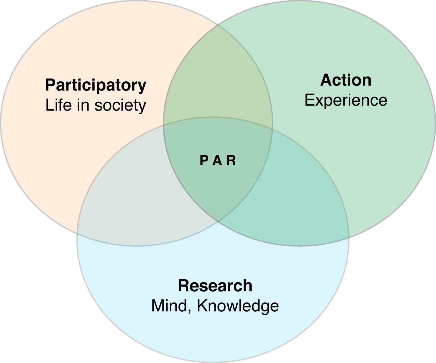 new research studies the importance of participatory action research in bringing about a change