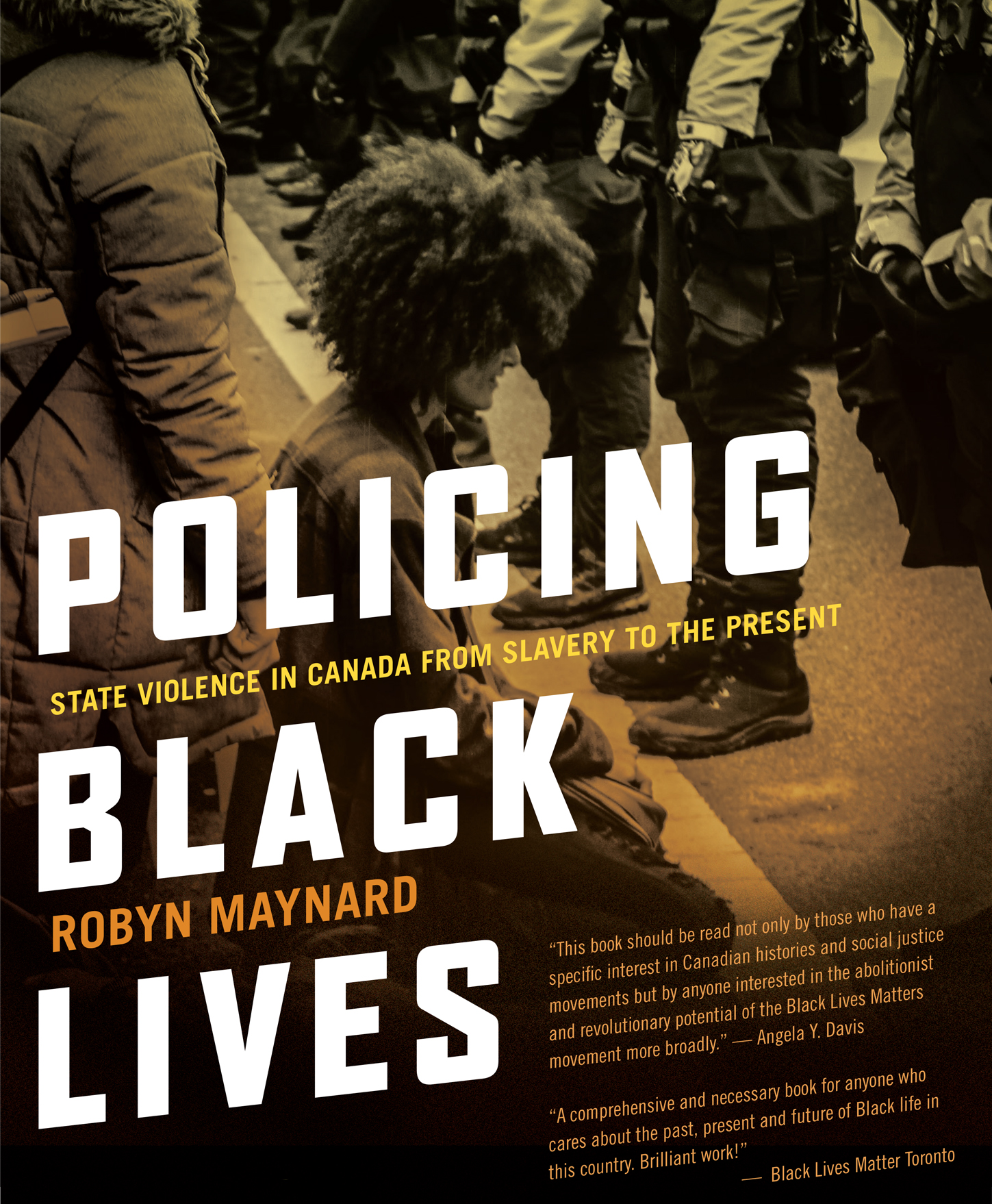 Cover of policing black lives