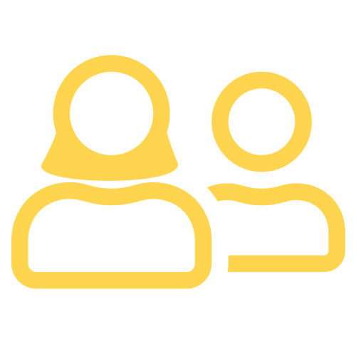 Parents and friends icon