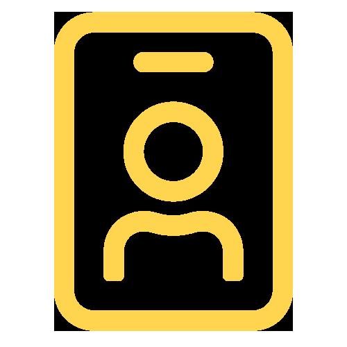 Staff ID icon