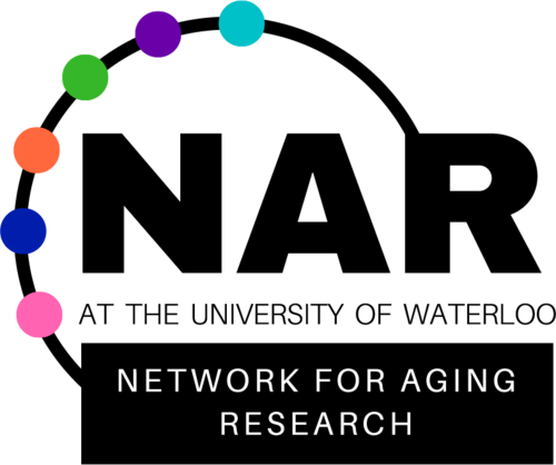 Network for Aging Research at the University of Waterloo logo.