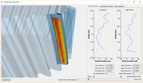 Virtual gear metrology module