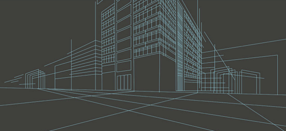 simple building drawing