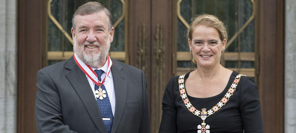Keith Hipel and Governor General Julie Payette