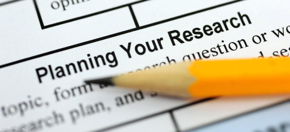 planning your research