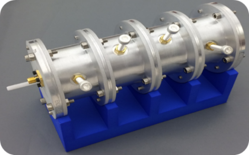 Novel coxial tunable bandpass filter