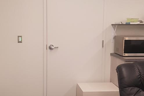 Doorway to other lab