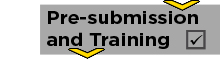 pre submission and training