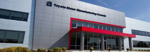 Toyota Manufacturing Canada Cambridge plant