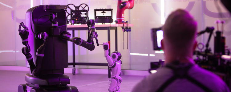 Robohub's feature Age of A.I. Robert Downey Jr. Behind the Scenes