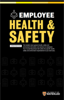 Health and safety orientation book cover