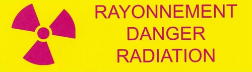 Rayonnement Danger Radiation
