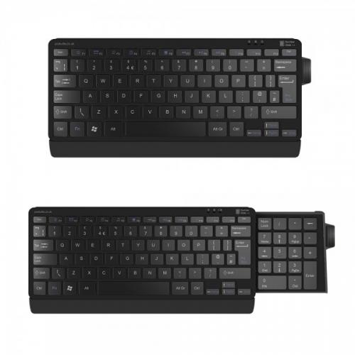 posturite sliding number pad keyboard