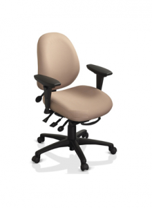 ergonomic chair called geocentric