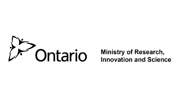 Ontario Ministry Research Innovation and Science logo