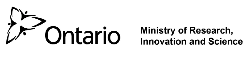 ERA Support Funding Agency Logo - Ontario Ministry of Research, Innovation, and Science