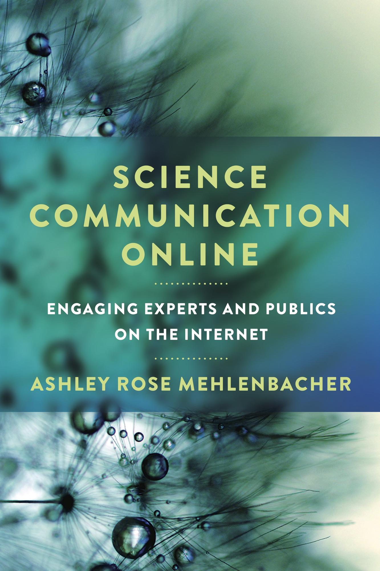 Book cover for Science Communication Online
