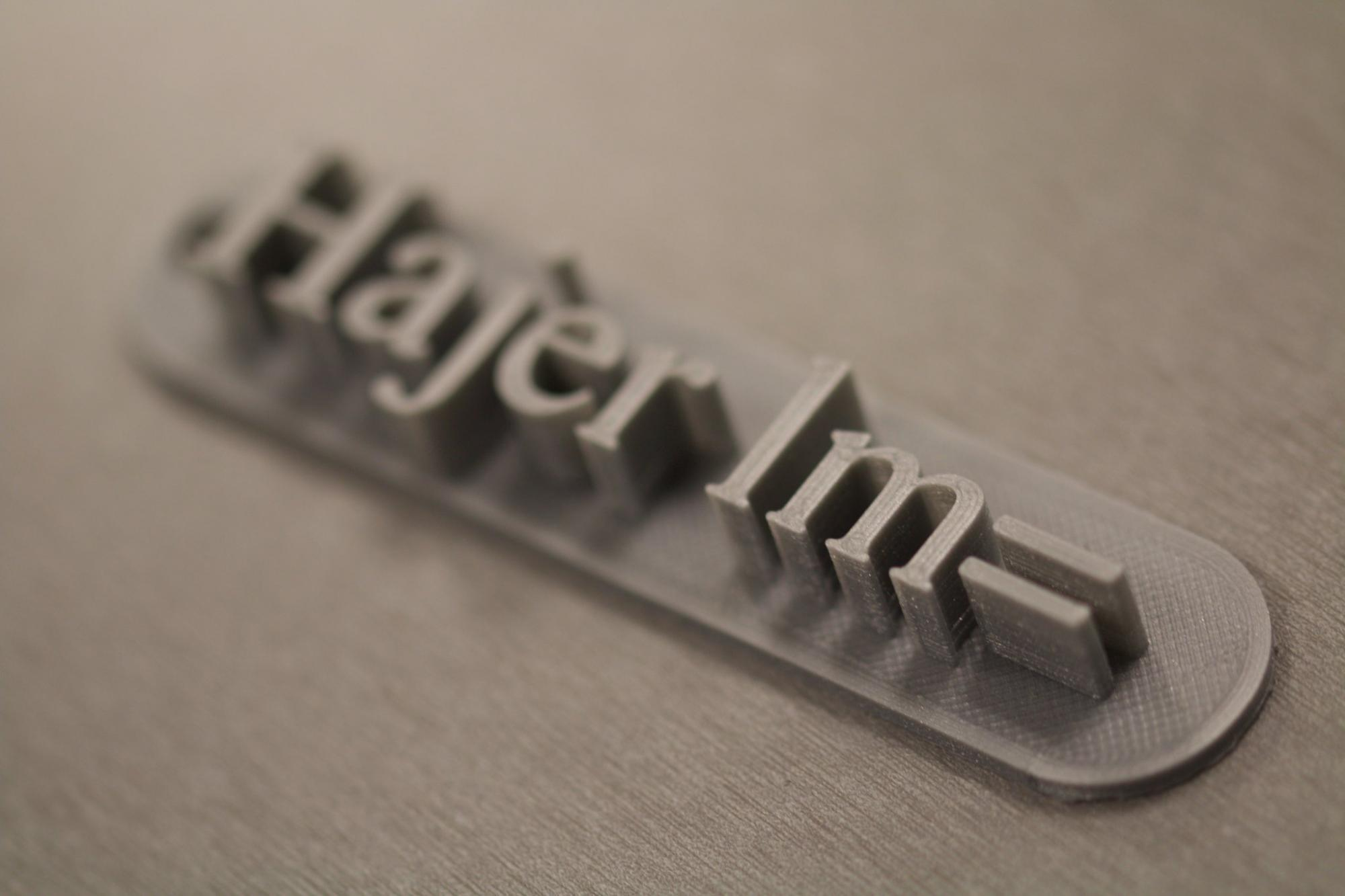 Image of 3D Print