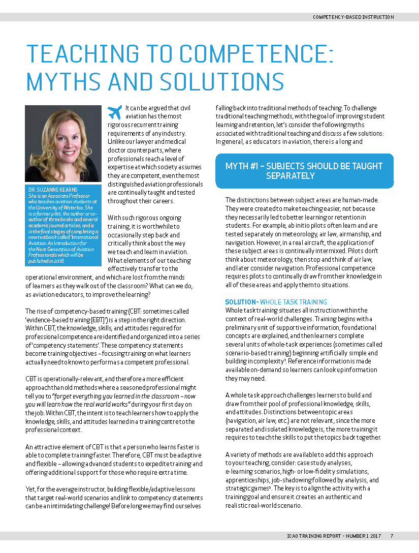 Myths and Solutions Article