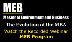 Watch the recorded webinar about the MEB program.