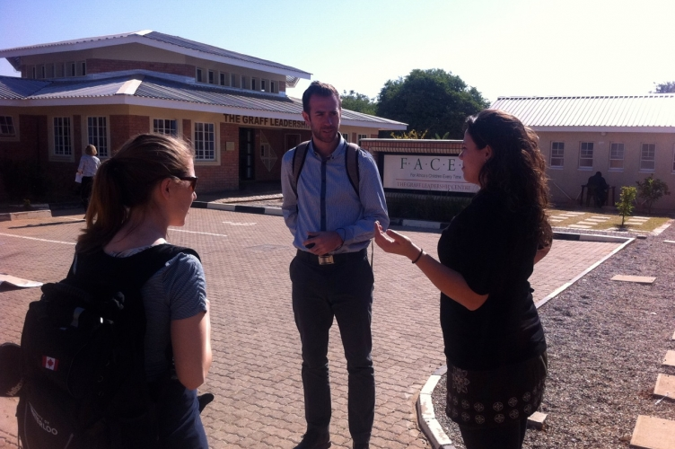 MDPers take a tour of Stepping Stones International with the program director Lila Pavey