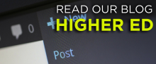 Read our blog Higher ED